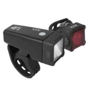 Fietsverlichting-racefiets-Niteline-T4-USB-oplaadbare-fietslamp-axa