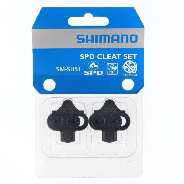 Schoenplaat-Shimano-SPD-zwart