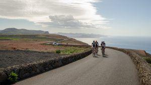 Trainen voor een toertocht op de fiets