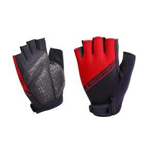 Wielrehandschoen-Hightech-comfort-rood-zwart