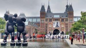Amsterdam-pedaalslag-fietsenwinkel