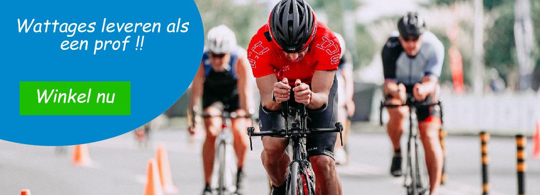 De fietsenwinkel voor wielrenners - pedaalslag