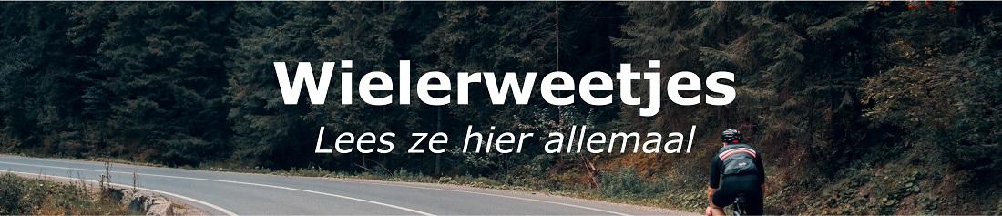 Wielerweetjes - pedaalslag.nl